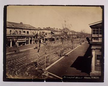 銀座煉瓦街・1878年: alpshima