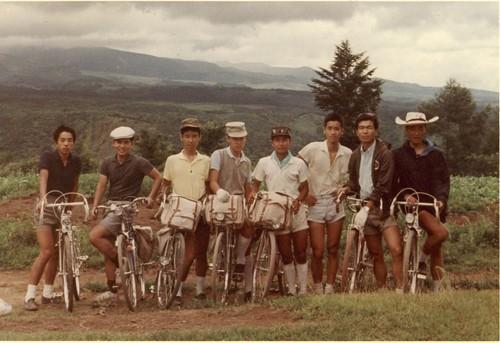 1963・高校サイクリング合宿・八ヶ岳
