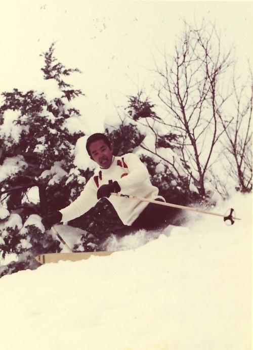 1974・石の湯ゲレンデ